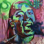 Acryl op canvas, 60 x 80 cm. VERKOCHT