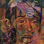Acryl op canvas, 80 x 100 cm
