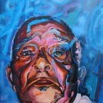 Acryl op canvas, 100 x 80 cm