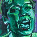 Acryl op canvas, 30 x 30 cm