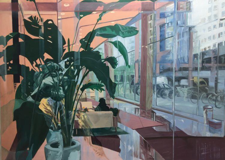 VERKOCHT. 100 x 140 cm, olieverf op canvas