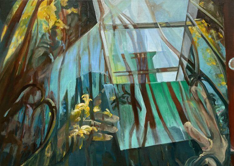 Oilpainting on canvas, 50 x 70 cm