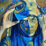 Oilpainting on canvas, 80 x 100 cm