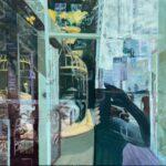 Olieverf en epoxy op linnen, 60 x 70 cm